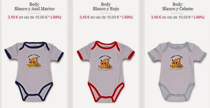 Bodis para bebé niño de Winnie the Pooh