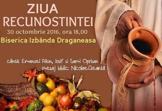 """Ziua Recunoştinţei la """"Izbânda"""" Drăgăneasa"""