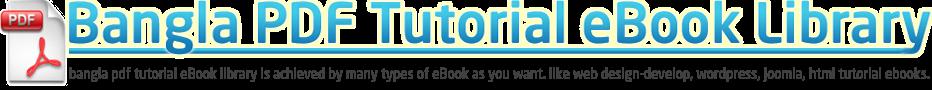Bangla PDF Tutorial eBook Library