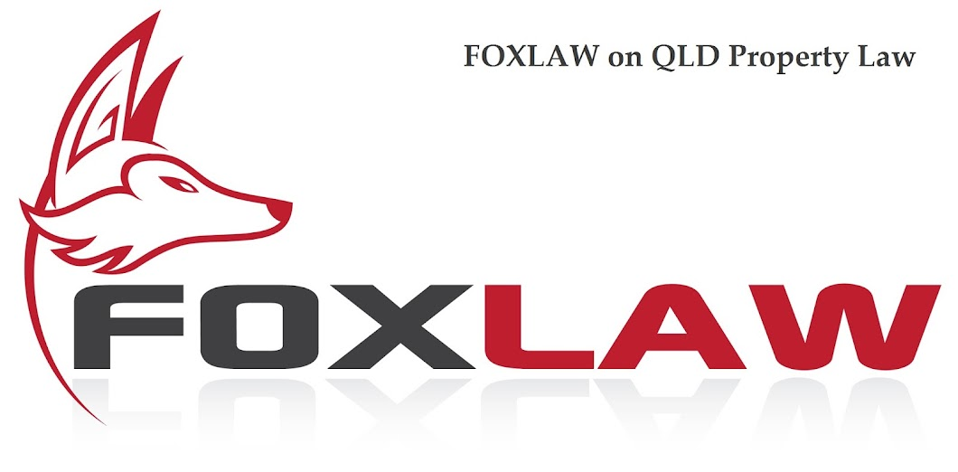 Foxlaw on qld property law foxlaw blogg solutioingenieria Choice Image
