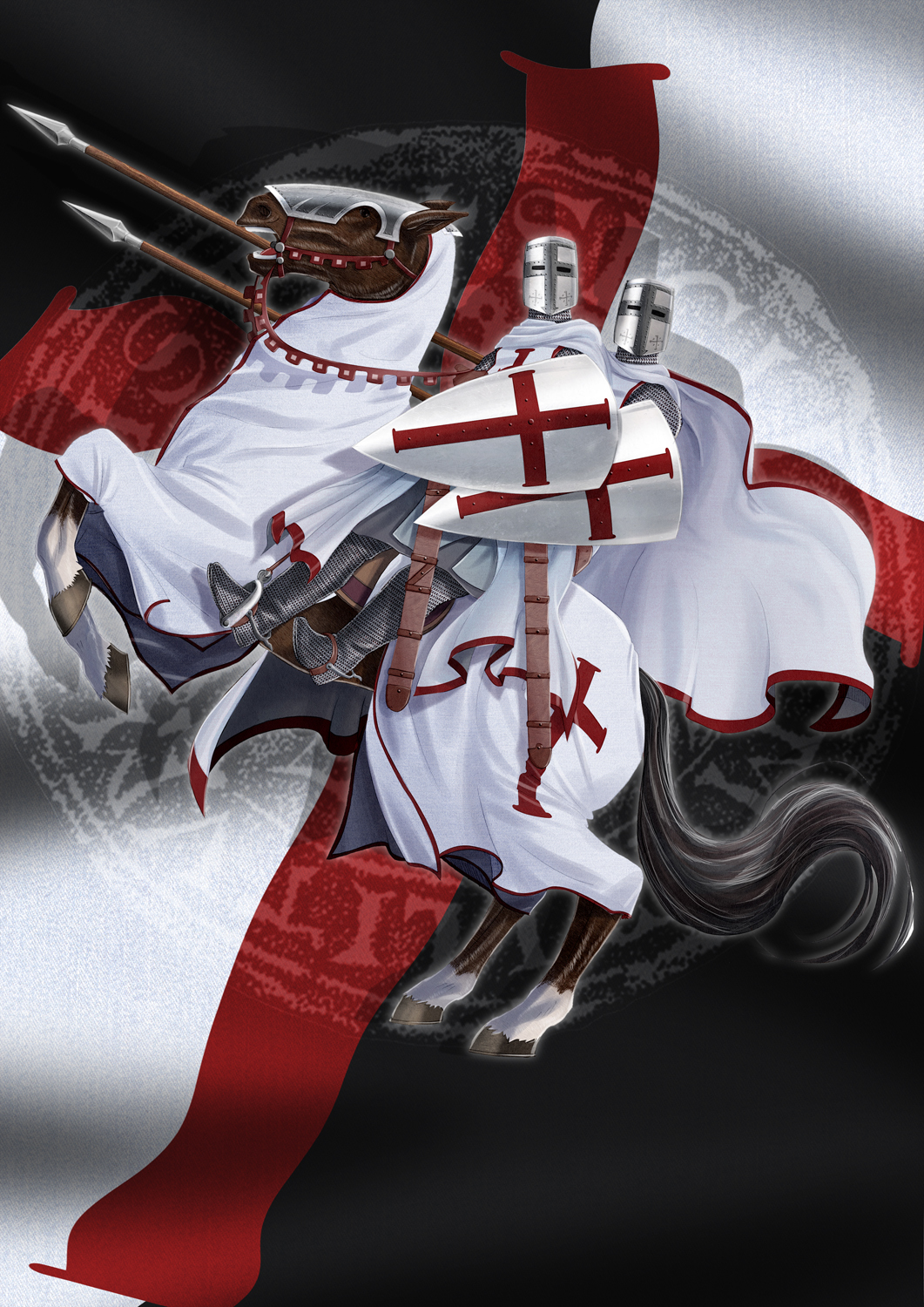 American chivalry templar history renaissance for The knights templat