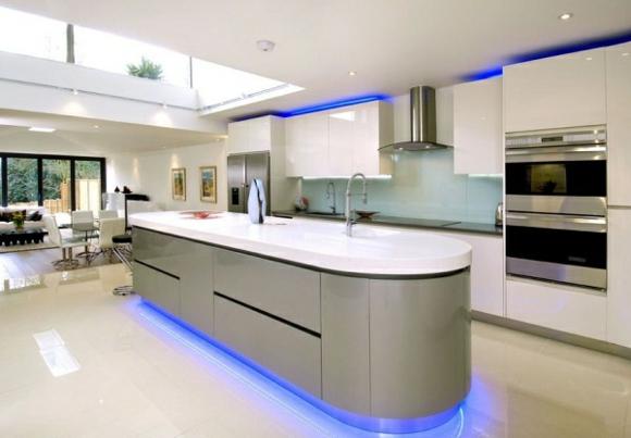 Fotos de cocinas grises ideas para decorar dise ar y for Elemento de cocina gris