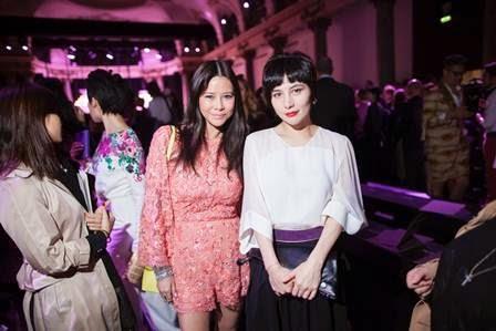 Josie Ho and Yvette at Paris Fun