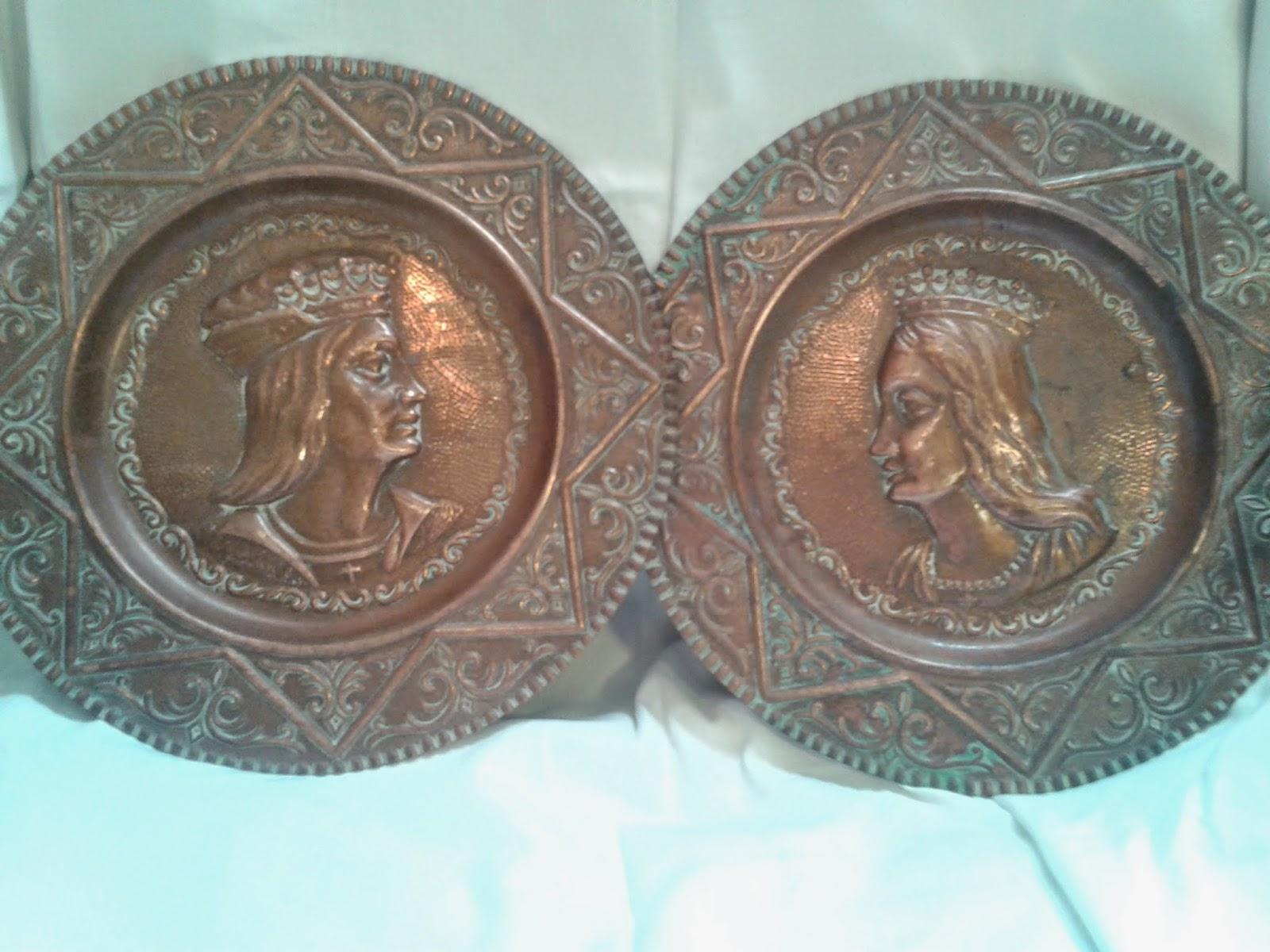 Platos decoratovos de cobre articulos de ocasion for Articulos de decoracion de cobre
