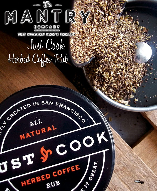 MANTRY- Modern Man's Pantry Subcription Box, Hand Picked Artisan Foods and Ingredients- Just Cook Herbed Coffee Rub