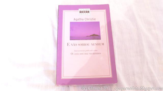 Livro Ágatha Christie