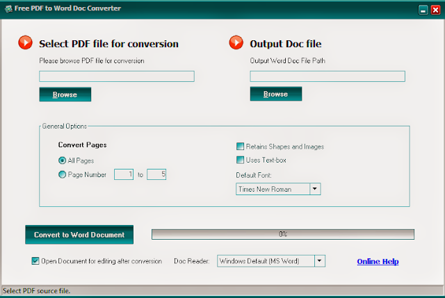 Convert PDF into Editable Word Documents