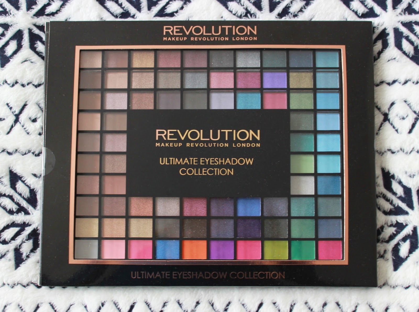 Makeup revolution ultimate eye shadow collection