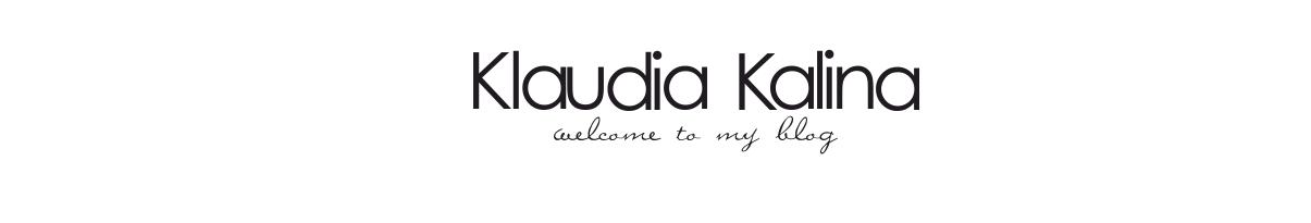 KLAUDIA KALINA- Lifestyle blog