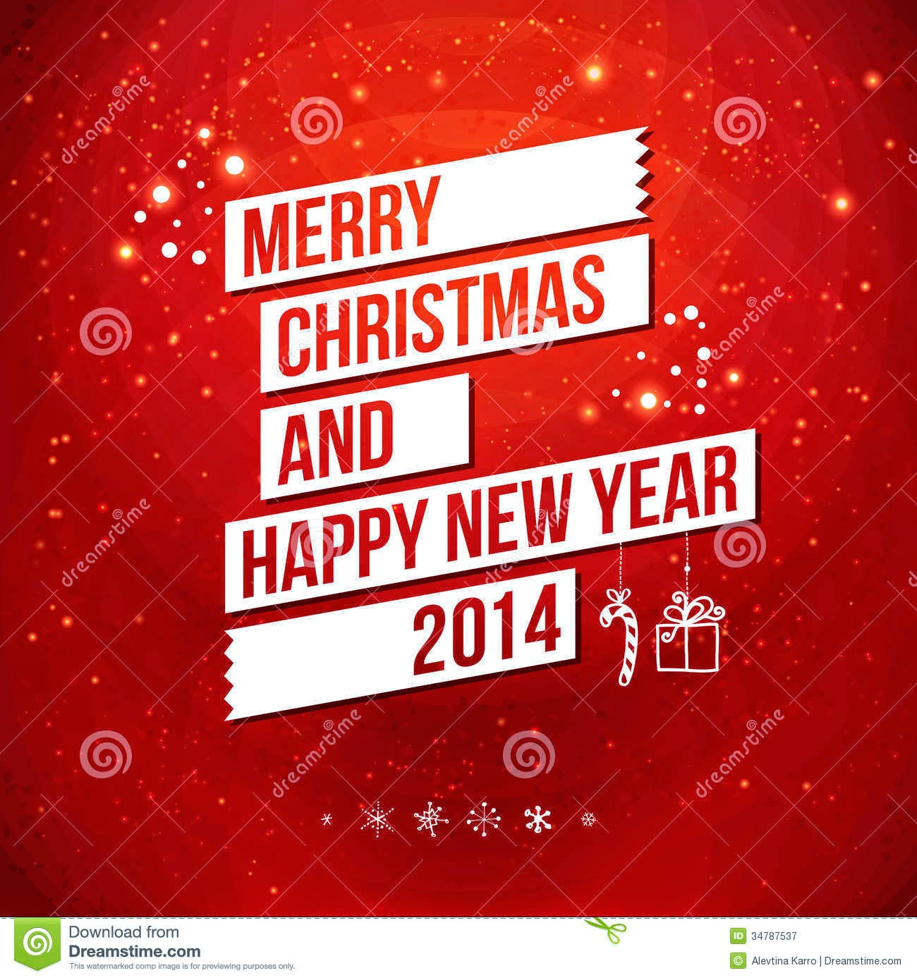Merry Christmas Greeting Cards 2014