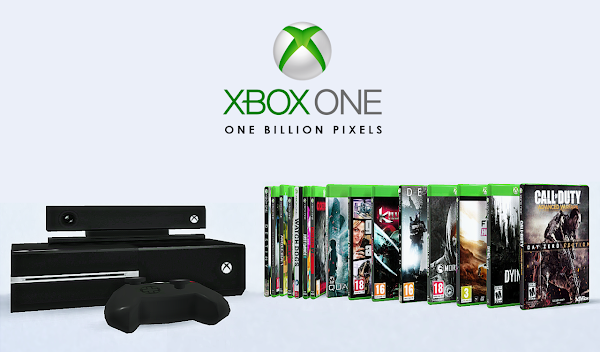 One billion pixels xbox one games consoles decor clutter for Decoration xbox one
