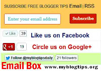 Email-Subscription-widget-for-blogger