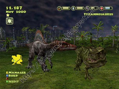 Free Download Games - Jurassic Park Operation Genesis