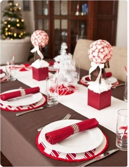 Navidad Decoracion Mesa ~ Ideas para decorar tu mesa en Navidad  Tu casa, Tu estilo