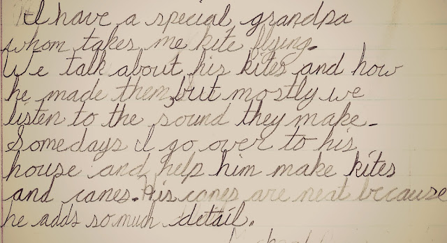 Visiting Grandfather – Papers: