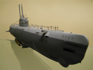 modelismo naval de submarinos: U-boot XXI