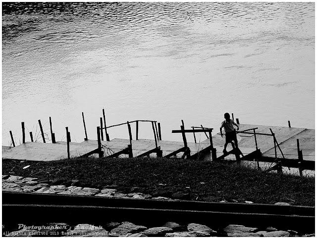 Photograph BW Black&White Pier