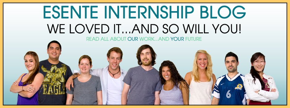 Esente Music Group Internship