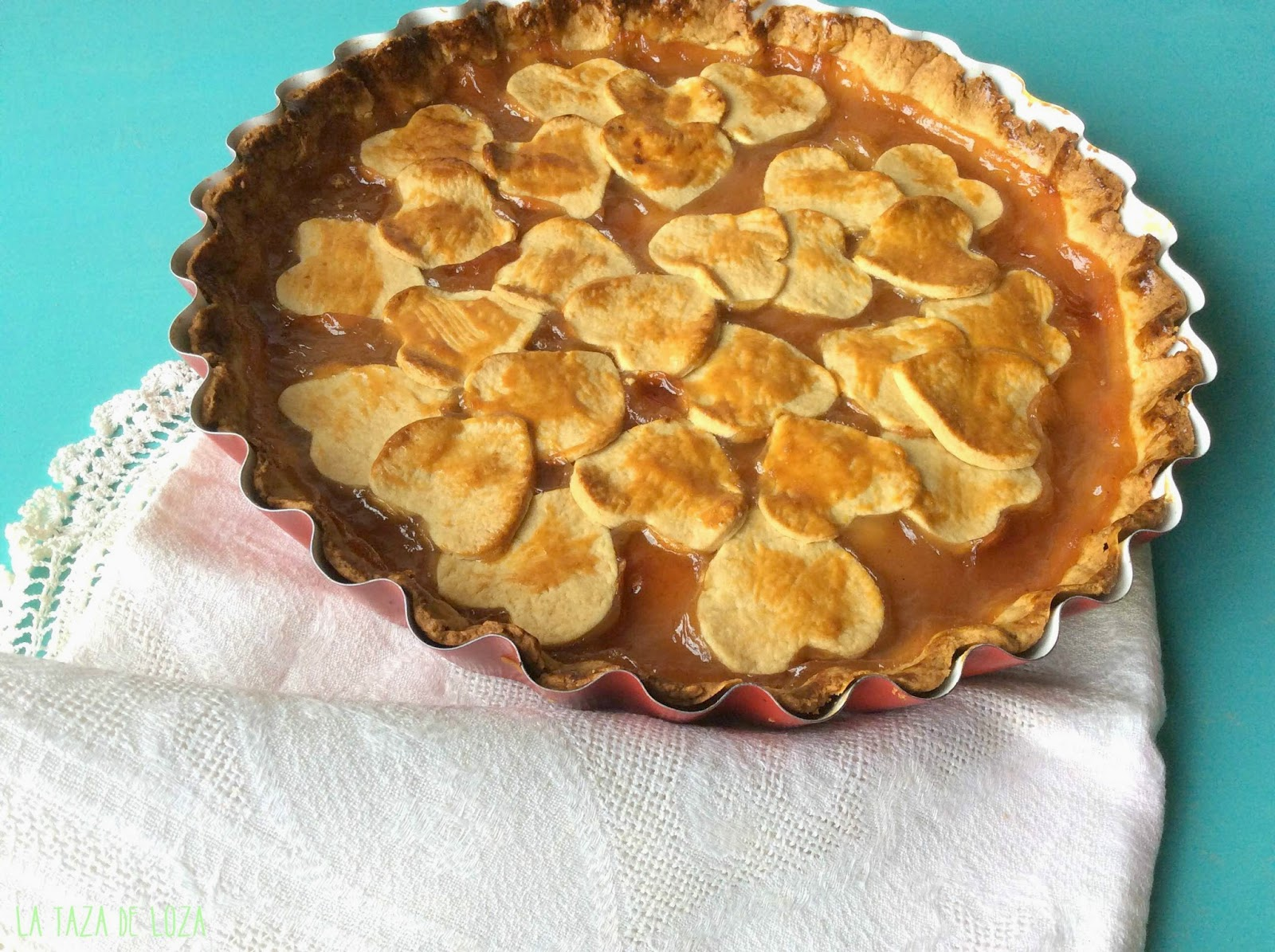 Tarta De Pasta Frola De Membrillo De Doña Petrona