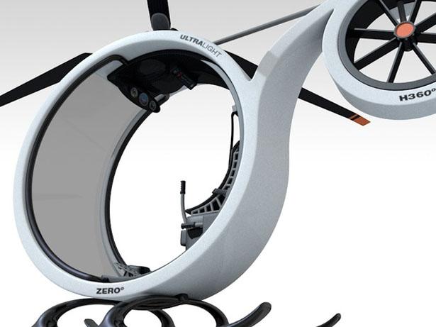 Diseño de prototipo de helicóptero.