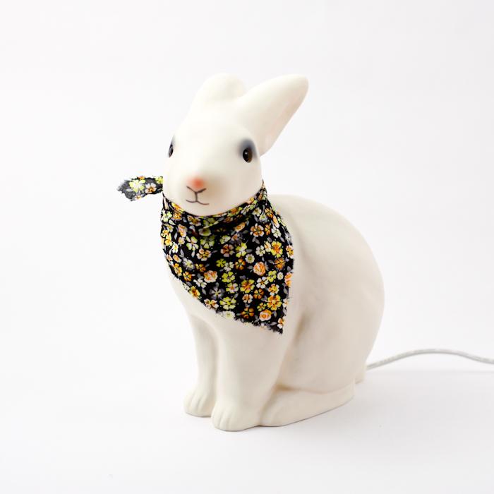 heico white rabbit lamp