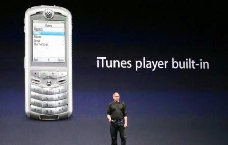 Tahukah Anda bahwa ponsel pertama yang mendukung iTunes bukanlah iPhone?