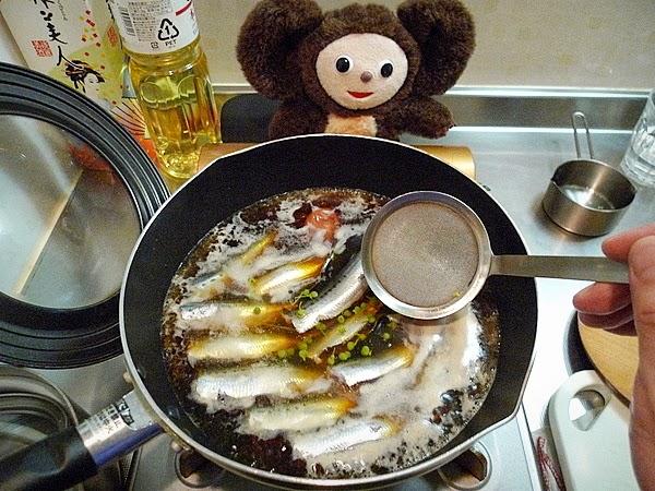 イワシ梅煮の作り方(1)