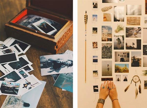 Decorando con fotos polaroid aplicaci n para revelar en este formato decoraci n - Home personal shopper ...