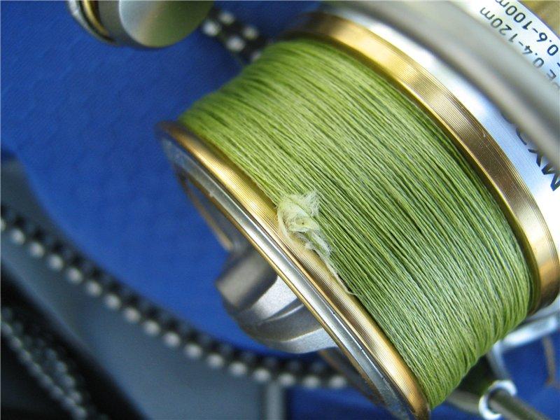 плетенка для спиннинга или монолеска