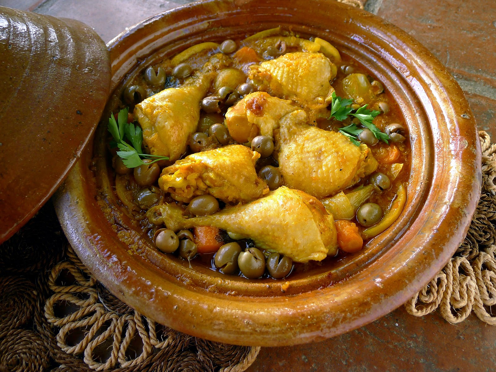 My kitchen in spain moroccan tagine with a spanish twist for Authentic moroccan cuisine