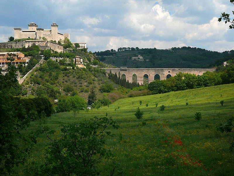 Italia, Umbria, Spoleto