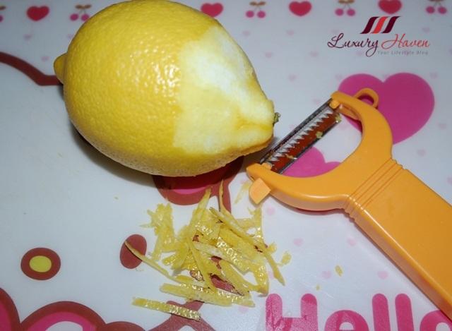 purelyfresh online grocery store lemon zest tips
