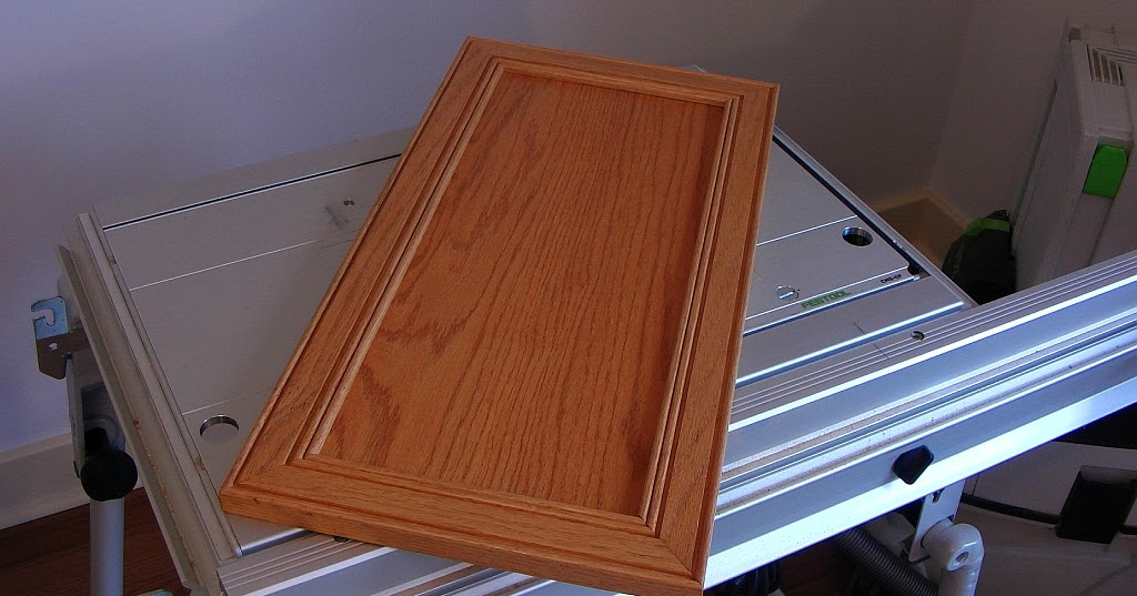 Mitered Cabinet Door with the Festool CMS Router Table   The Green ...