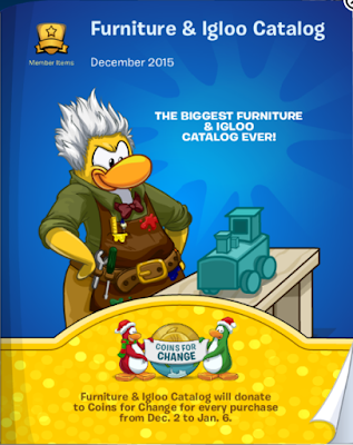 Club Penguin Furniture & Igloo Catalog Cheats December 2015