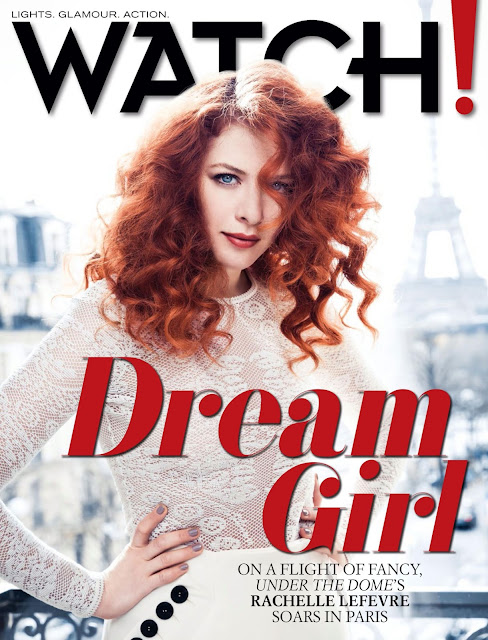 Actress @ Rachelle Lefevre - Watch USA, August 2015
