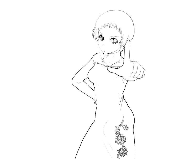 printable-persona-4-arena-fuuka-yamagishi-characters-coloring-pages