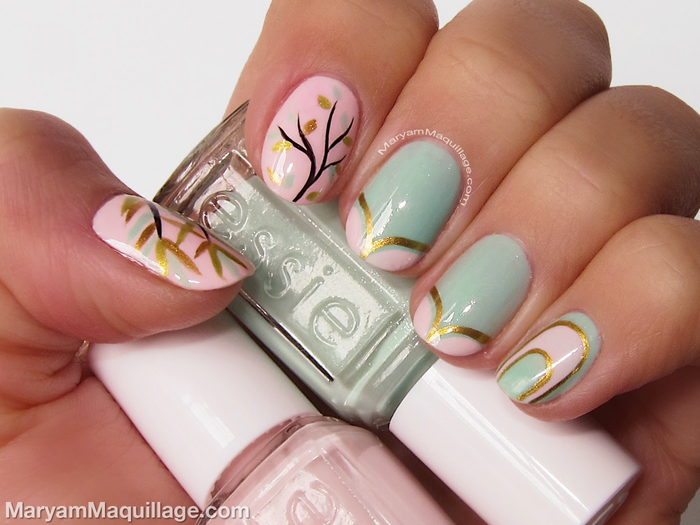 Maryam Maquillage Spring Beauty Trend Pastel Nailart