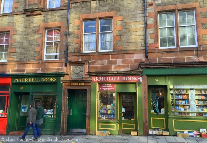 second hand bookshops - Edinburgh