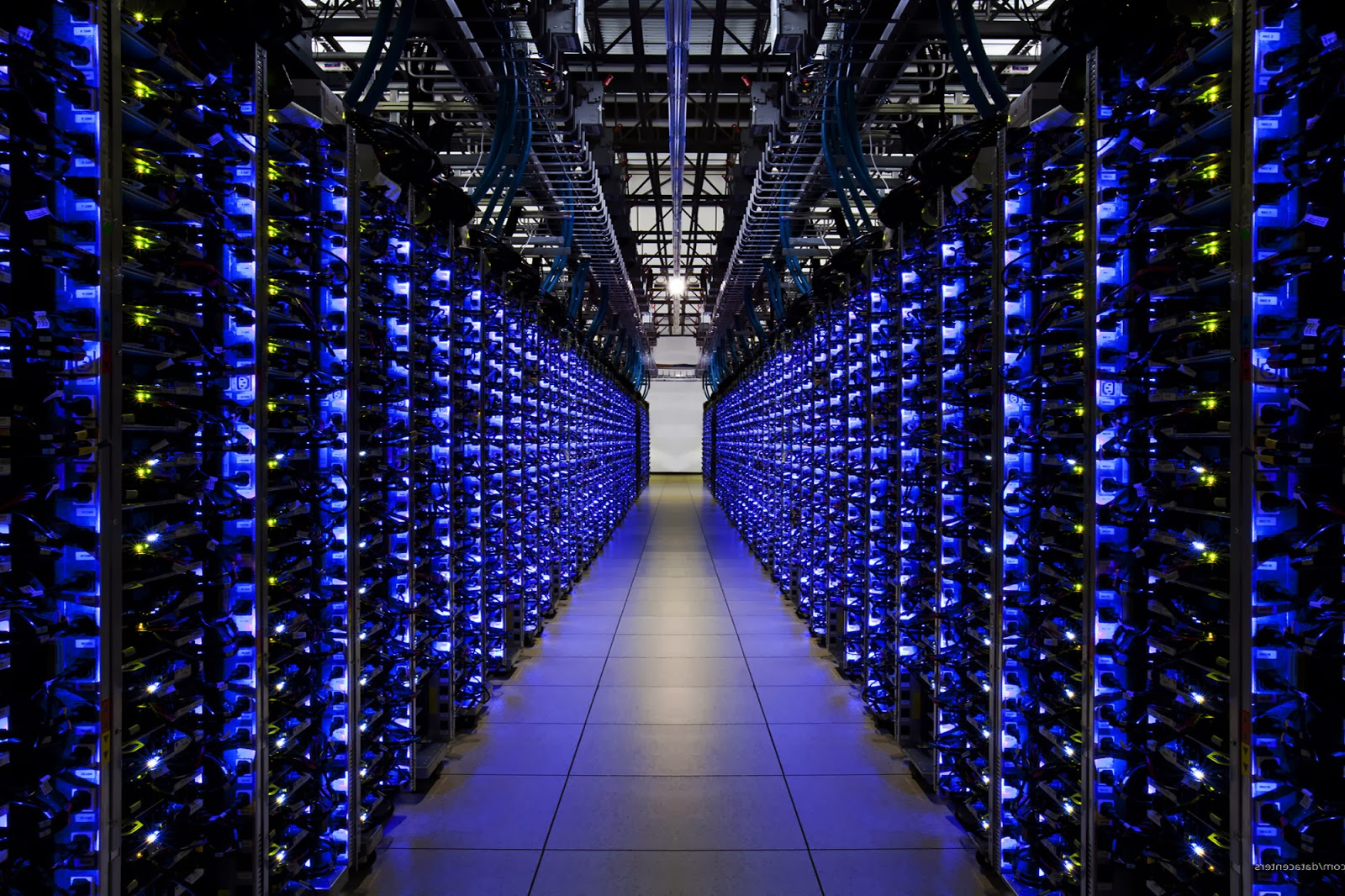image of a data center