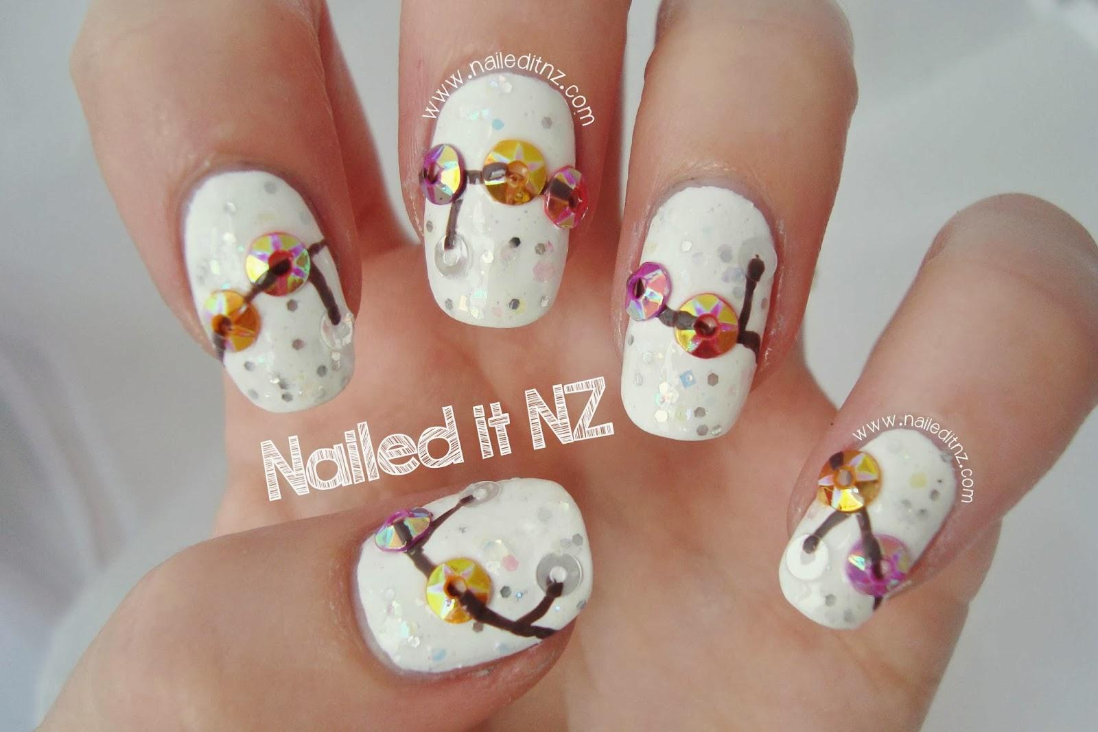 Charm Bracelet 3d Nail Art