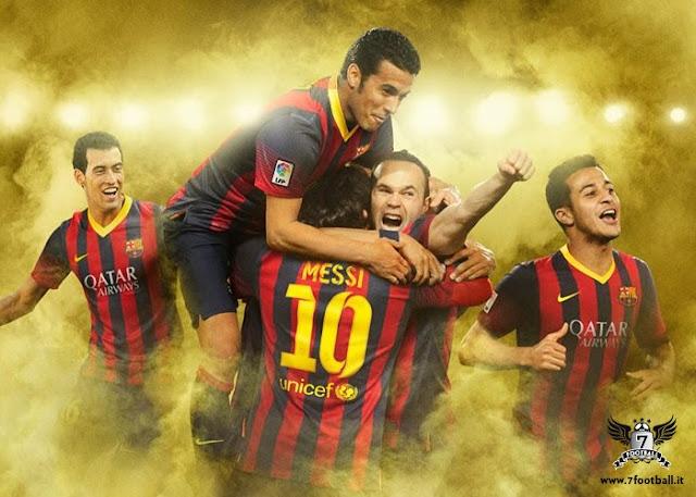 FC Barcelona Team 2013 2014