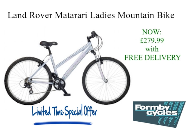 Ladies Mountain Bike: Land Rover Matarari