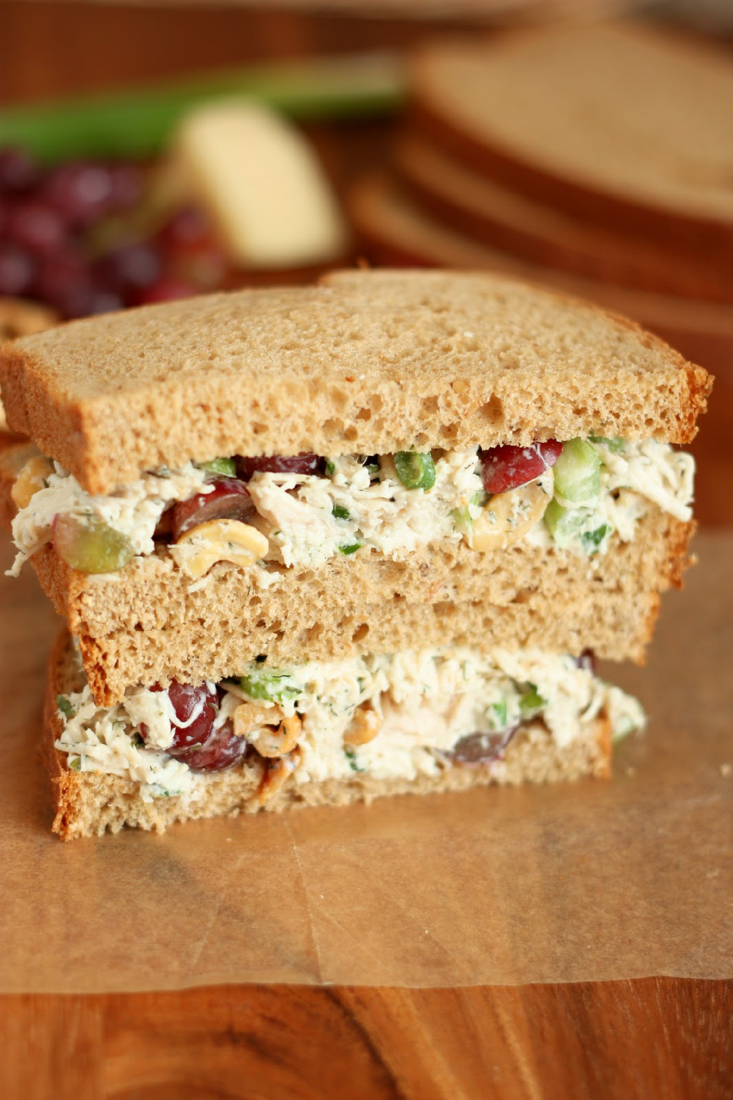 Recetas: Dill Chicken Salad Sandwiches