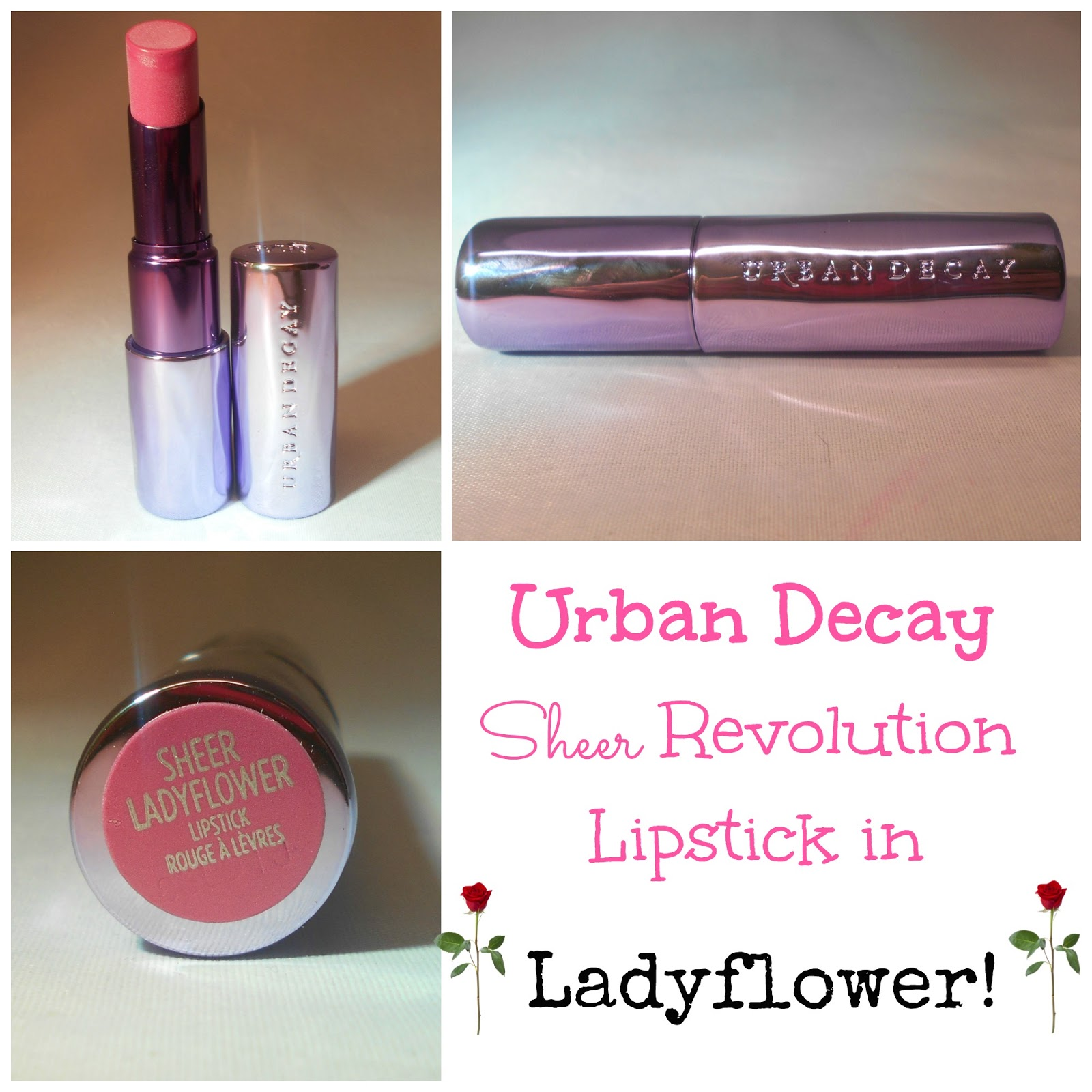 Urban Decay Revolution Lipstick Sheer Liar   Glambot.com
