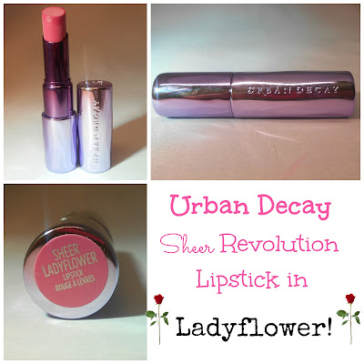 Urban Decay Sheer Revolution Lipstick in Ladyflower