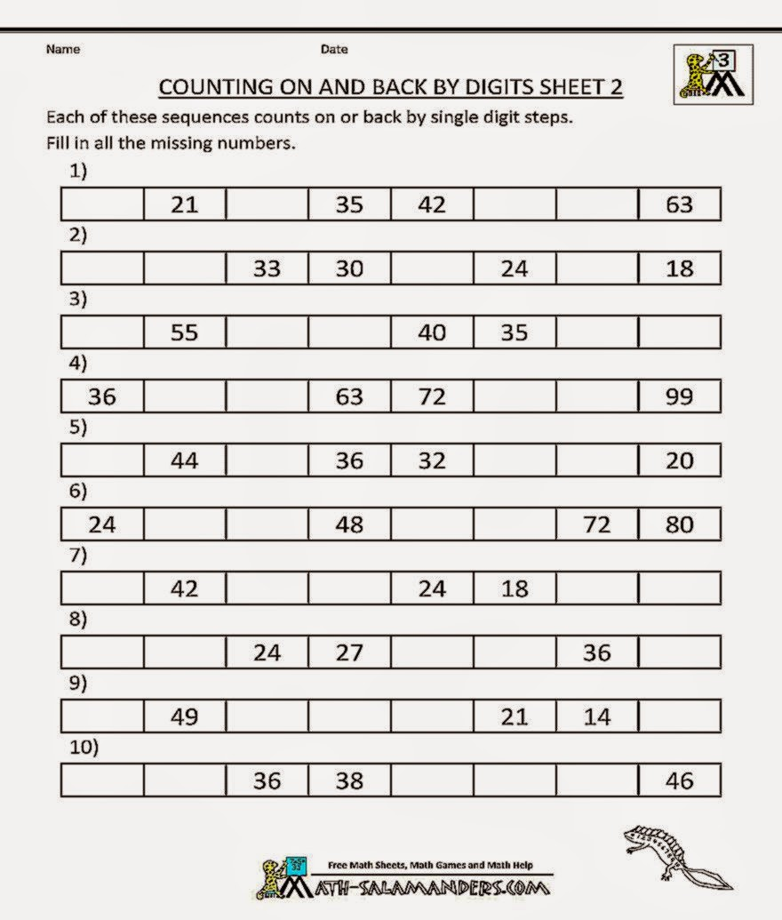 3Rd Grade Math Worksheets – Math Practice Worksheets 3rd Grade