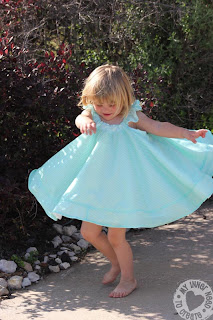 Simplicity 2466 Girls Circle Dress