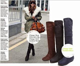 Giày thời trang nữ - Giày boot nữ