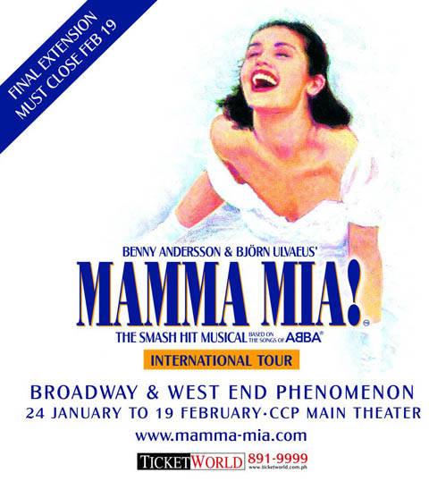 MAMMA MIA Live in Manila 2012