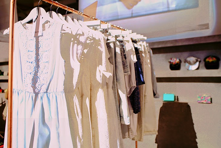white dress primark